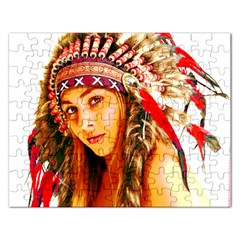 Indian 26 Rectangular Jigsaw Puzzl by indianwarrior