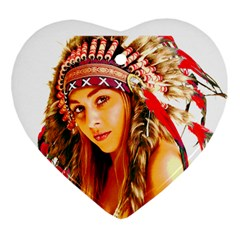 Indian 26 Heart Ornament (2 Sides) by indianwarrior