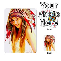 Indian 26 Multi Purpose Cards (rectangle)  by indianwarrior