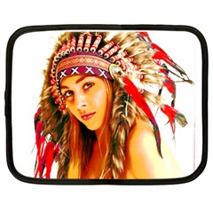 Indian 26 Netbook Case (xl)  by indianwarrior