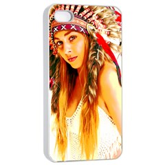 Indian 26 Apple Iphone 4/4s Seamless Case (white) by indianwarrior