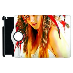 Indian 26 Apple Ipad 3/4 Flip 360 Case by indianwarrior