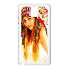 Indian 26 Samsung Galaxy Note 3 N9005 Case (white) by indianwarrior
