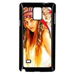 Indian 26 Samsung Galaxy Note 4 Case (black) by indianwarrior