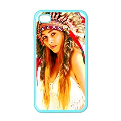 Indian 26 Apple Iphone 4 Case (color) by indianwarrior