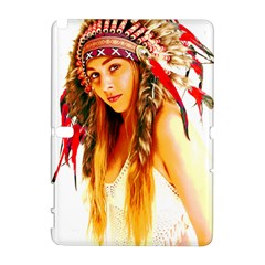 Indian 26 Samsung Galaxy Note 10 1 (p600) Hardshell Case by indianwarrior