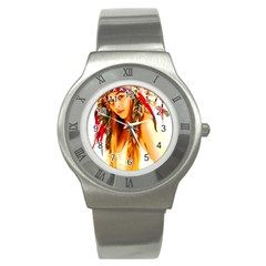 Indian 26 Stainless Steel Watch by indianwarrior