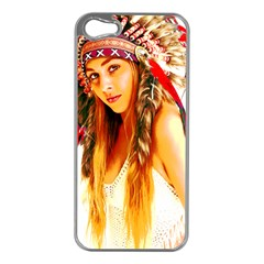 Indian 26 Apple Iphone 5 Case (silver) by indianwarrior