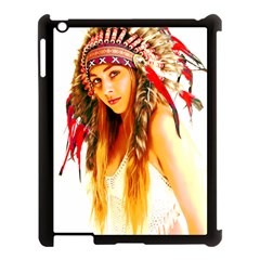 Indian 26 Apple Ipad 3/4 Case (black) by indianwarrior
