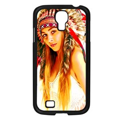 Indian 26 Samsung Galaxy S4 I9500/ I9505 Case (black) by indianwarrior