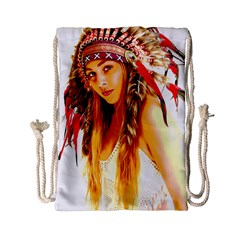 Indian 26 Drawstring Bag (small) by indianwarrior