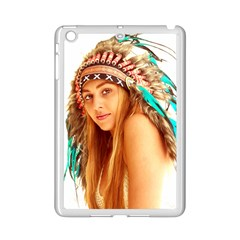 Indian 27 Ipad Mini 2 Enamel Coated Cases by indianwarrior
