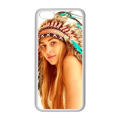 Indian 27 Apple Iphone 5c Seamless Case (white) by indianwarrior