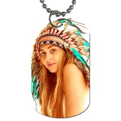 Indian 27 Dog Tag (two Sides) by indianwarrior
