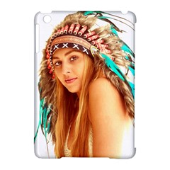 Indian 27 Apple Ipad Mini Hardshell Case (compatible With Smart Cover) by indianwarrior