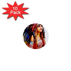 Indian 22 1  Mini Buttons (10 Pack)  by indianwarrior