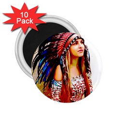 Indian 22 2 25  Magnets (10 Pack)  by indianwarrior