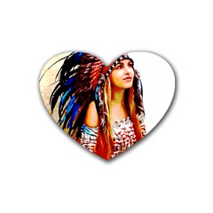 Indian 22 Heart Coaster (4 Pack)  by indianwarrior