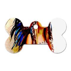 Indian 22 Dog Tag Bone (one Side) by indianwarrior
