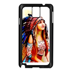 Indian 22 Samsung Galaxy Note 3 N9005 Case (black) by indianwarrior