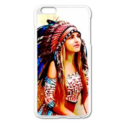 Indian 22 Apple Iphone 6 Plus/6s Plus Enamel White Case by indianwarrior