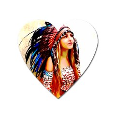 Indian 22 Heart Magnet by indianwarrior