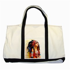 Indian 22 Two Tone Tote Bag by indianwarrior