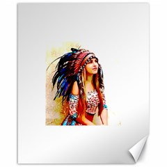Indian 22 Canvas 16  X 20   by indianwarrior