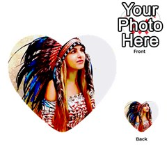 Indian 22 Multi Purpose Cards (heart)  by indianwarrior