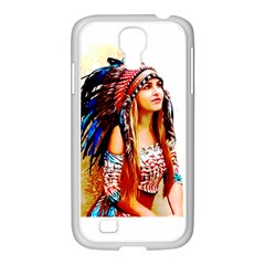 Indian 22 Samsung Galaxy S4 I9500/ I9505 Case (white) by indianwarrior