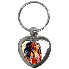 Indian 22 Key Chains (heart)  by indianwarrior