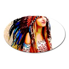 Indian 22 Oval Magnet by indianwarrior