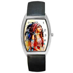 Indian 22 Barrel Style Metal Watch by indianwarrior