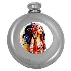 Indian 22 Round Hip Flask (5 Oz) by indianwarrior