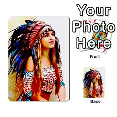 Indian 22 Multi Purpose Cards (rectangle)  by indianwarrior