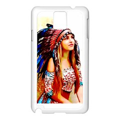 Indian 22 Samsung Galaxy Note 3 N9005 Case (white) by indianwarrior
