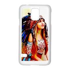 Indian 22 Samsung Galaxy S5 Case (white) by indianwarrior