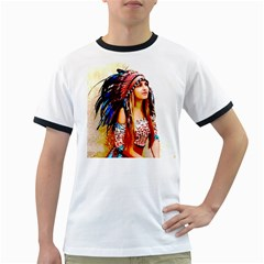 Indian 22 Ringer T Shirts by indianwarrior