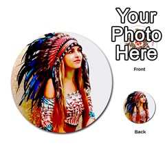 Indian 22 Multi Purpose Cards (round)  by indianwarrior
