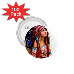 Indian 21 1 75  Buttons (100 Pack)  by indianwarrior