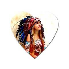 Indian 21 Heart Magnet by indianwarrior