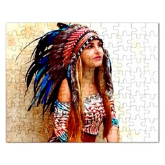 Indian 21 Rectangular Jigsaw Puzzl by indianwarrior