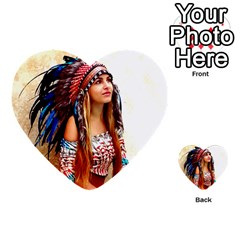 Indian 21 Multi Purpose Cards (heart)  by indianwarrior