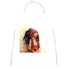 Indian 21 Full Print Aprons by indianwarrior