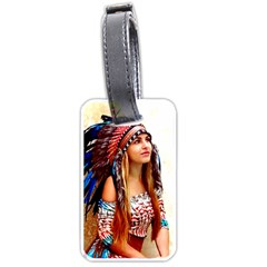 Indian 21 Luggage Tags (one Side)  by indianwarrior
