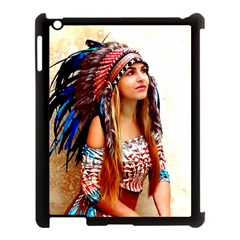 Indian 21 Apple Ipad 3/4 Case (black) by indianwarrior