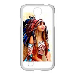 Indian 21 Samsung Galaxy S4 I9500/ I9505 Case (white) by indianwarrior