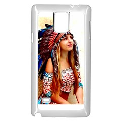 Indian 21 Samsung Galaxy Note 4 Case (white) by indianwarrior