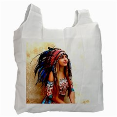 Indian 21 Recycle Bag (one Side) by indianwarrior