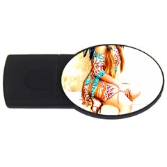 Indian 18 Usb Flash Drive Oval (2 Gb)